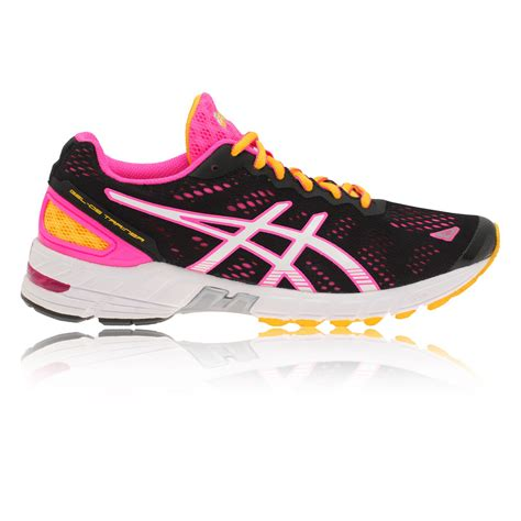 asics womens black running shoes trainers asics gel ds trainer 19 womens running shoes