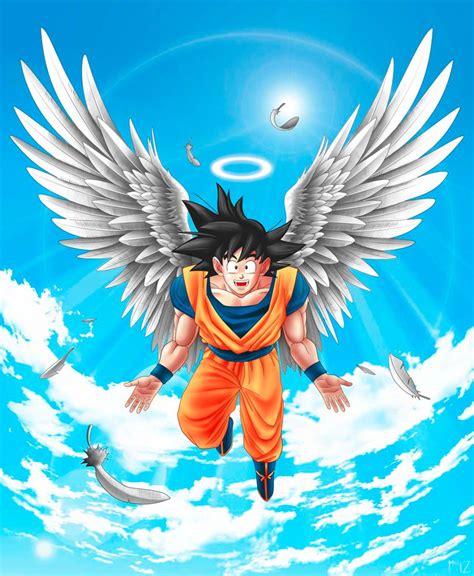 imagenes de goku angel angel goku by mikelopez on deviantart