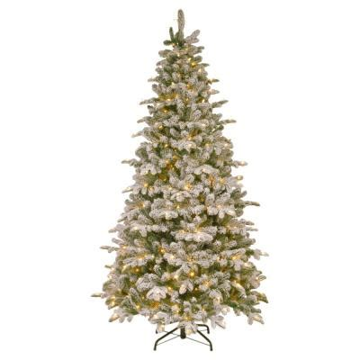 ge nordic spruce christmas tree national tree company 7 5 ft unlit feel real downswept douglas fir hinged artificial