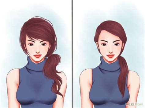 hairstyles for school wikihow 10 simple ideas how to make 2 minutes hairstyle for school