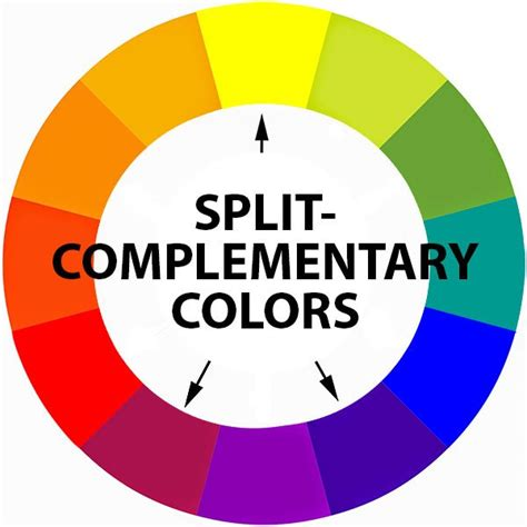 split complementary color scheme lessons teresa bernard paintings