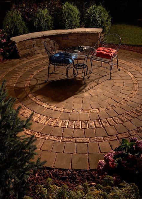 1000 ideas about circular patio on gardening
