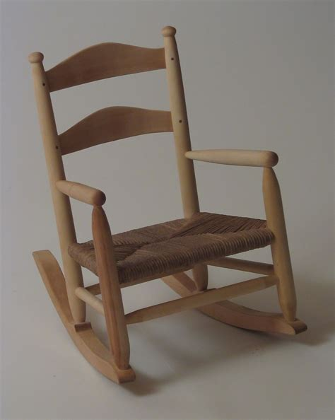 Handcrafted Rocking Chairs - crafted child s rocking chair by silvertree