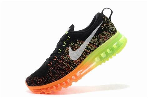 nike flyknit air max womens running shoes black