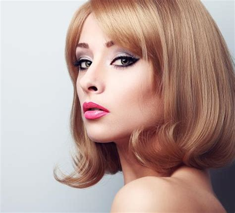 hairstyles for sharp jaw line the right bob haircut for your face type lovetoknow