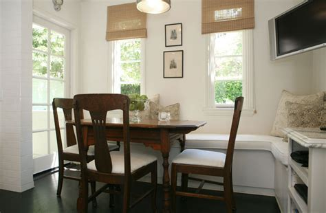 Built In Kitchen Banquette by Built In Banquette Transitional Dining Room Jeneration Interiors