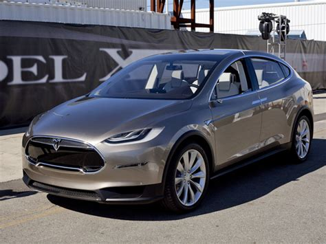 All About Tesla Motors Tesla Unveils Its All Electric Model X Crossover