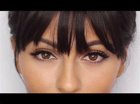 short hairstyles with bangs youtube how to use clip in bangs youtube