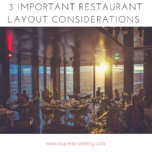 importance of restaurant layout 3 important restaurant layout considerations
