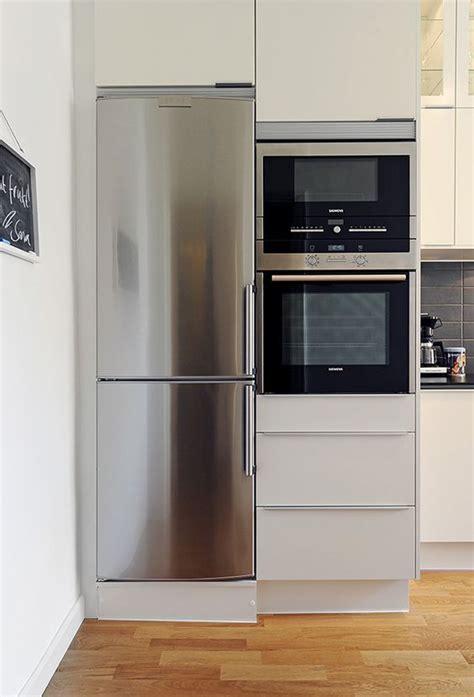 small apartment kitchen appliances narrow fridge for narrow spaces gothenburg apartment 9