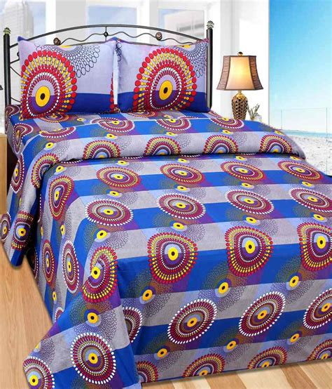 buy linen house online the american linen house multicolour cotton double bedsheet 2 pillow covers buy the
