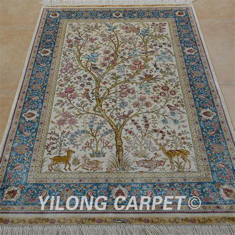 Silk Handmade Rugs - silk handmade rugs roselawnlutheran