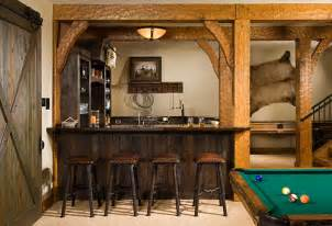 Timber Home Bar Featured Timber Frame House Designed For A Mountainous View