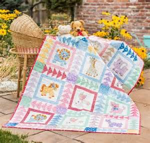 quilt it quickly with pre cut baby quilt kits