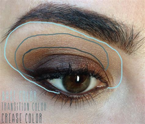 color transition eyeshadow blending tip transition color quinnfacemakeup
