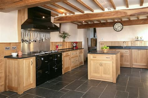 Industrial Style Kitchen Island by Solid Wood Kitchen Built In Appliances Granite Worktop