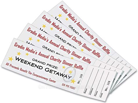 inkjet printable tickets ave16154 printable tickets by avery ontimesupplies com