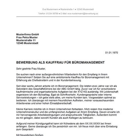 Anschreiben Bewerbung Kaufmann Bewerbung Als Kauffrau F 252 R B 252 Romanagement Kaufmann F 252 R B 252 Romanagement Bewerbung Co