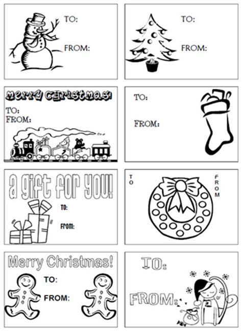 printable christmas tags black and white printable christmas tags in black and white happy holidays