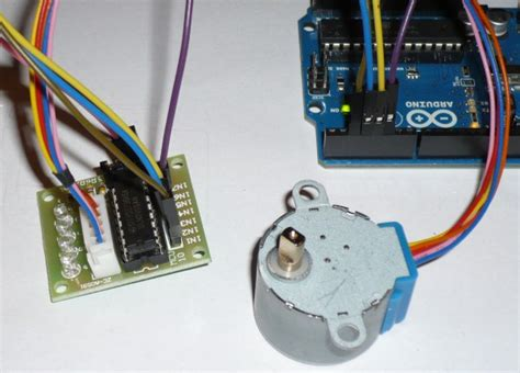 Lu Motor Led Mio lucadentella it stepper kit per arduino