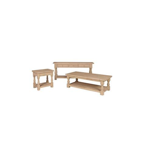 Tuscan Sofa Table 66 Inch Tuscan Sofa Table Bare Wood Wood