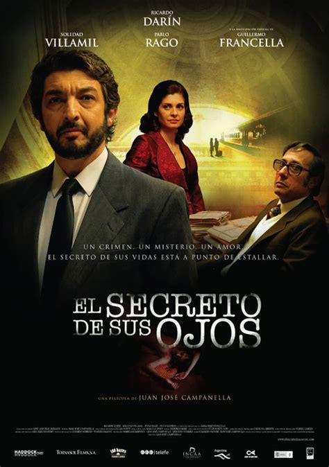 el secreto de sus el secreto de sus ojos se estrena el 13 de agosto demasiado cine