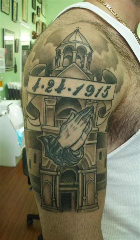 armenian tattoo designs arm