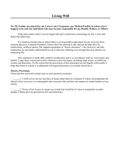 family trust template three page living will edit fill sign handypdf