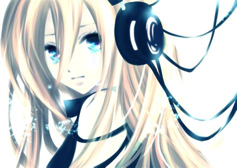 anime mp3 anime girls with headphones wallpaper 1200x849 anime