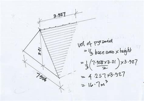 Hip Roof Dimensions Discrepencies In Volume Calcs Diynot Forums