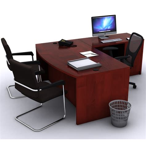 L Shaped Office Desk L Shaped Bow Front Desk New Office