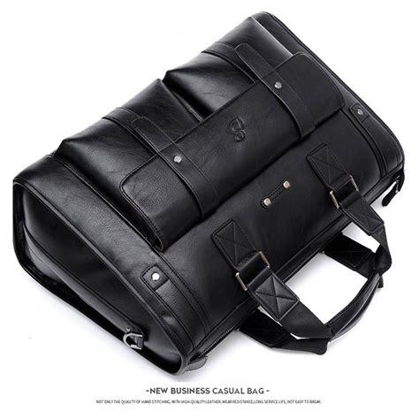 Senter Jinjing baillr tas jinjing selempang kulit pria size large black jakartanotebook