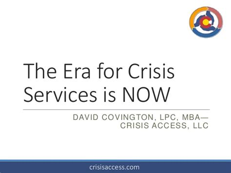 Mba Services Llc by Era Of Crisis Is Now Open Minds Planning Innovation 2014 06
