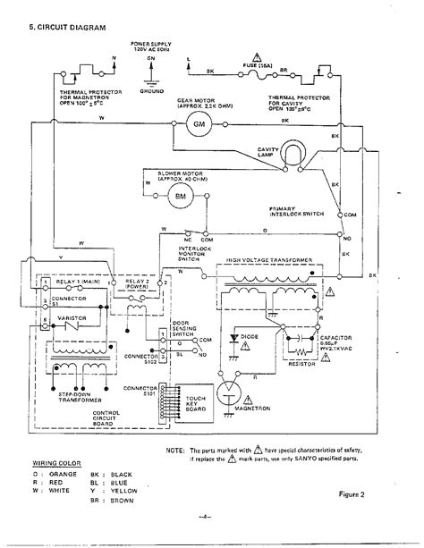 Wrg 4948 For Lg Microwave Oven Wiring Diagram