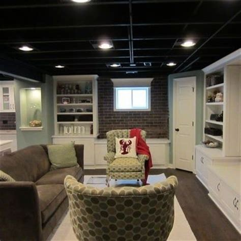 17 best ideas about unfinished basement decorating on