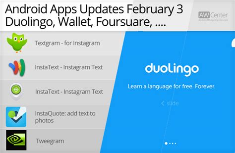 android themes update zip android apps updates 03 february android widget center
