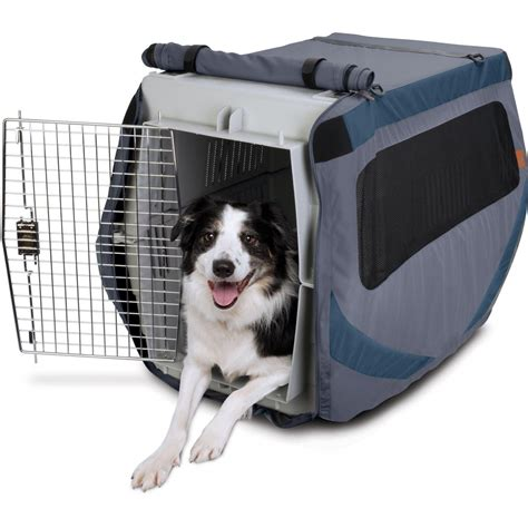 dog crate cover classic two door freckles designs how to choose the right dog kennel cover top dog tips
