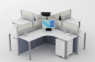 office furniture workstations cluster of 4 workstation for office furniture