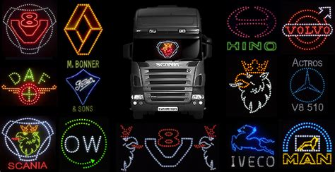24 Volt Led Lights Truck Lite Logos