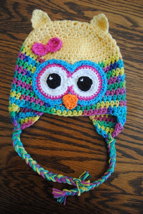 free pattern owl hat cute crochet owl hat pattern from cre8tioncrochet oh my