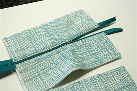 pattern for fabric pencil case simple zipper pencil case little red window