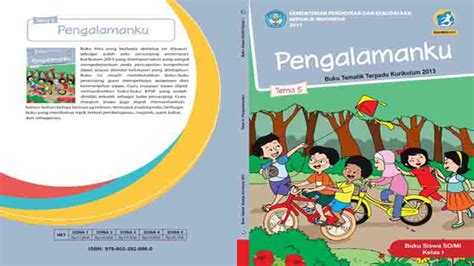 Buku Tematik Kelas 1 Sd K13 Revisi 2017 Kemendikbud buku siswa kelas 1 tema 5 pengalamanku semester 2 k13