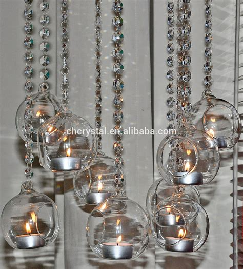 beaded garland for candles hanging glass globe candle holder beaded garland for