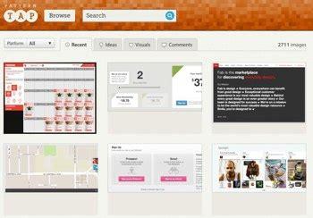 zurb pattern tap zurb acquires design database and community pattern tap