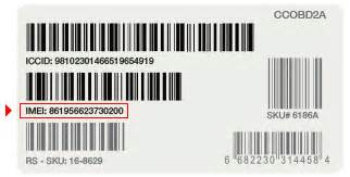 find the imei number wireless support