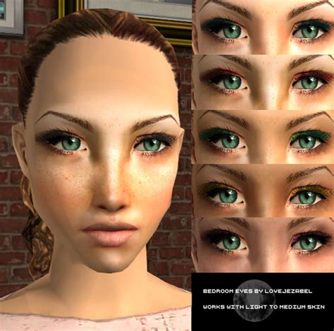 bedroom eye mod the sims bedroom eyes eyeshadow