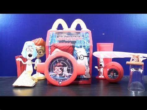 Mister Peabody And Sherman Set Happy Meal Mc Donalds Mcd Mekdi Murah 2014 mr peabody sherman set of 2 mcdonalds happy meal toys 5 6 review