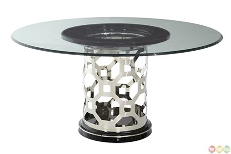 michael amini dining table michael amini after eight titanium dining table by aico