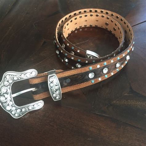 64 justin boots accessories justin s leather belt