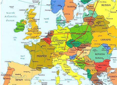 maps de europa este de europa mapa